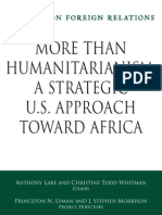 CFR - Africa Task Force Web