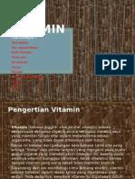 Ppt Biokimia Vitamin