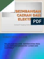 keseimbangan cairan eletrolit