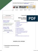 Cálculo y Diseño de Los Ejes de Un Vehículo