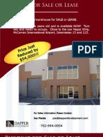 Las Vegas Commercial Warehouse for Sale , Las Vegas Investments
