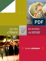 Les Vins Et Recettes Du Terroir Alsacien