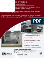 Las Vegas Commecial Property - Medical Space For Lease