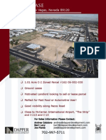 Green Valley Ground Lease -  Pecos and Sunset