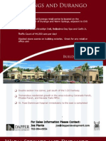 Las Vegas Commercial Retail For Lease - Durango and Warm Springs