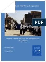 2015 11 11 - Women's Rights, Taliban, and Reconciliation - An Overview.pdf