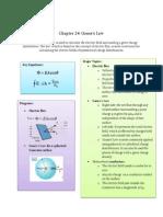 Ch24- Gauss's Lawmiller