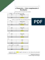 Matemática Financeira_Resoluções