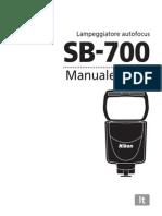 Manuale Istruzioni SB700
