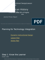 dynamic instructional design-lesson plan-action plan
