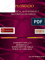 Supervision,Residencia de Obras