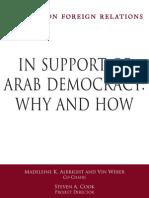 CFR - Arab Democracy TF
