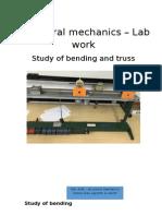 Bending Lab Report (Daniel Díaz, Harish & Jayanth)