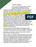 Relazione Charlie Hebdo in Francia