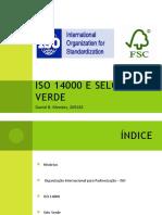 ISO 14000 e Selo Verde