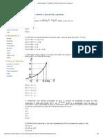 Matematiquês » Questões » Módulo, Exponencial, Logaritmo