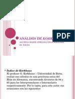 Análisis de Korkhaus