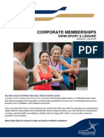 Corporate Memberships Information 2015