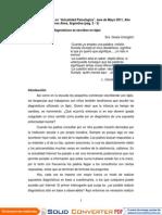 Artculo Untoiglich Para Actualidad Psicolgica