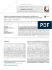 Numerical Modeling of Dynamic and Parametric Instabilities Of