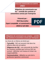 Obligation Du Cac