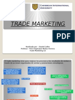 Trade Marketing Daniel Calles