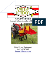 Value Leader Wood Chipper WC Series Manual