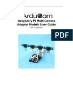RaspberryPi Multi Camera Adapter Module UG