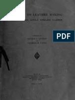 English of Leather Making 1919