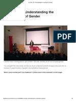 My TED Talk_ Understanding the Complexities of Gender