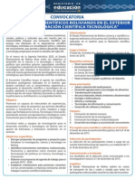Convocatoria Encuentro Científicos Bolivianos