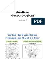 Kousky Lecture 2 Meteorological Analyses Portuguese