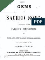 Gems Sacred Song