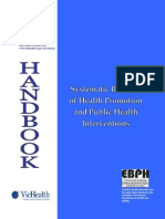 HPPH Systematic Review Handbook