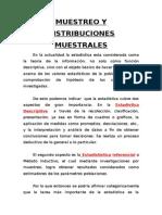 Muestreo y Distribuciones Muestrales