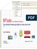 MTools v1.09 for Excel 2007-2013