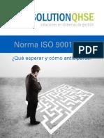 Nueva Norma ISO 9001 2015 Analisis