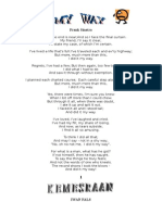 Lirik Lagu Barat Oldies