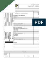 Check List de Compresor de Aire