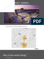 Convention Center presentation