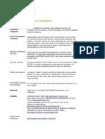 Calendario Compacto 2014 Mexico