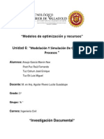 Modelos de Optimización y Recursos Unidad 6