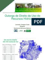 Outorga de Direito de Uso de Recursos Hídricos no Mato Grosso do Sul