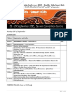 brief indigenous leadership conference printed 1