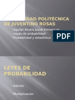 -Leyes de Probabilidad