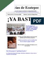Diario de Ecatepec Noticias del 1 al 7 de mayo 2008