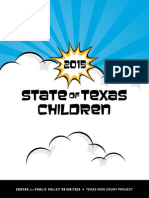 CPPP 2015 State of Texas Children Report