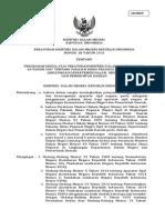 Permendagri Nomor 68 Tahun 2015