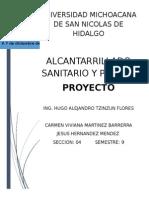 Proyecto de Alcantarillado Sanitario y Pluvial
