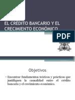 El Crédito Bancario y El Crecimiento Económico